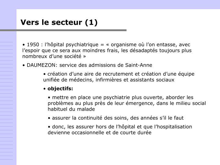 Vers le secteur (1)