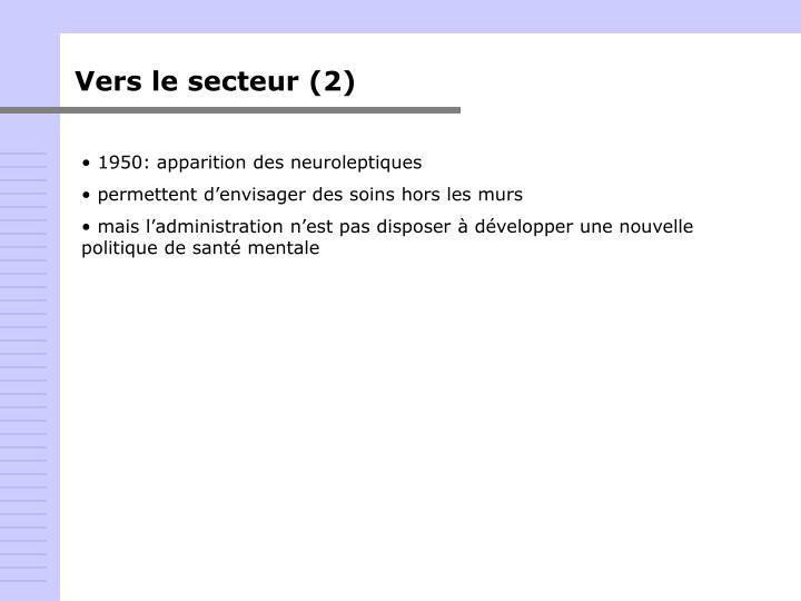 Vers le secteur (2)