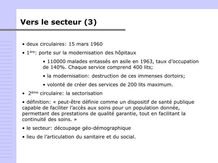 Vers le secteur (3)