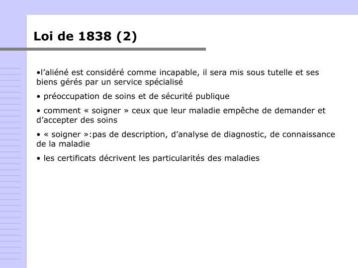 Loi de 1838 (2)