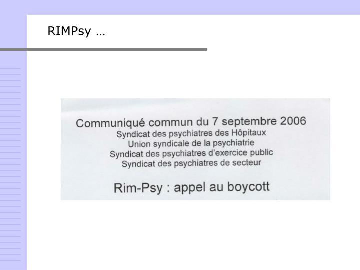RIMPsy …