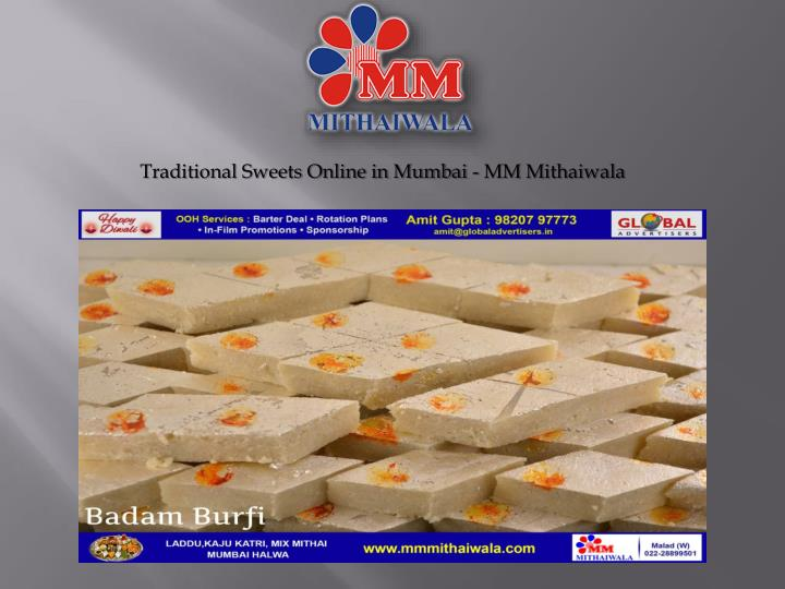 Traditional sweets online in mumbai mm mithaiwala