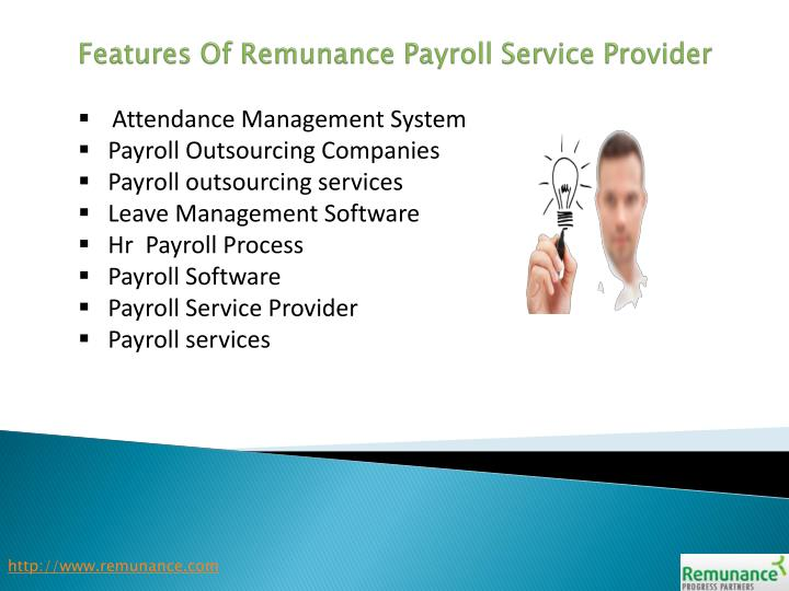 Features of remunance payroll service provider