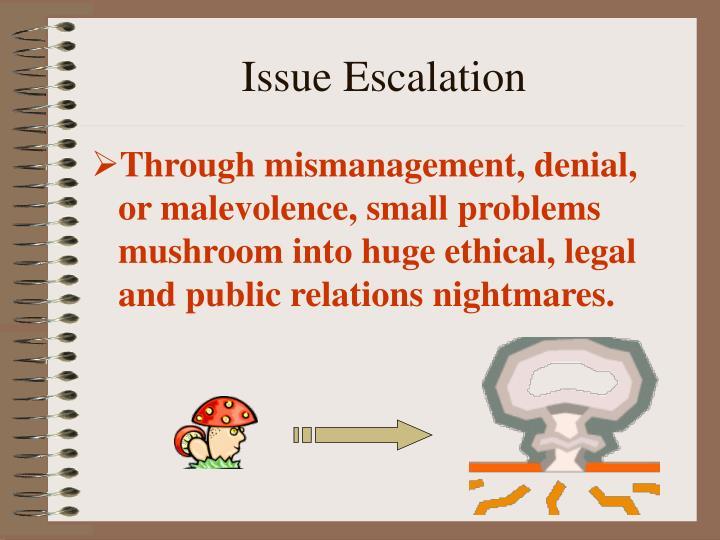 Issue Escalation