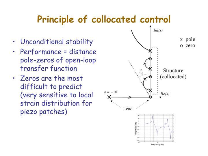 Principle of collocated control