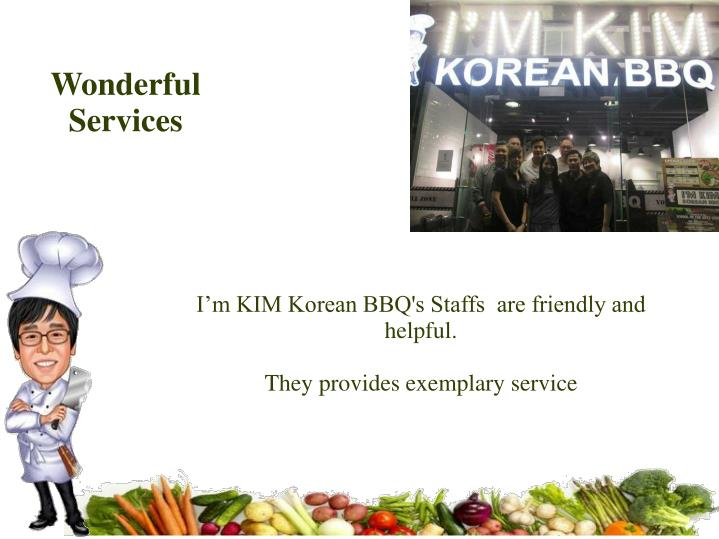 Wonderful Services