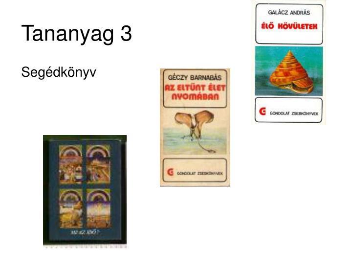 Tananyag 3