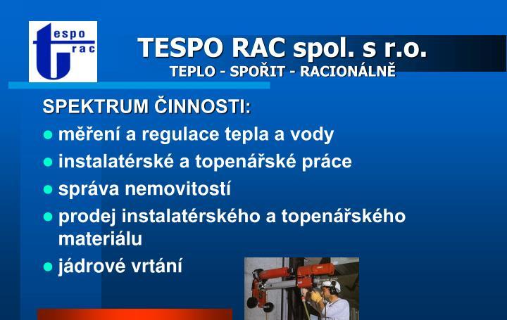 TESPO RAC spol. s r.o.