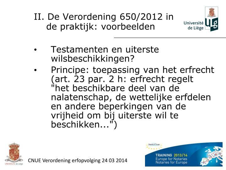 CNUE Verordening erfopvolging 24 03 2014