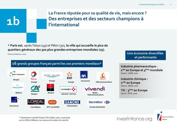 La France réputée pour sa qualité de vie, mais encore ?