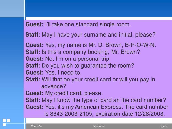 Guest: