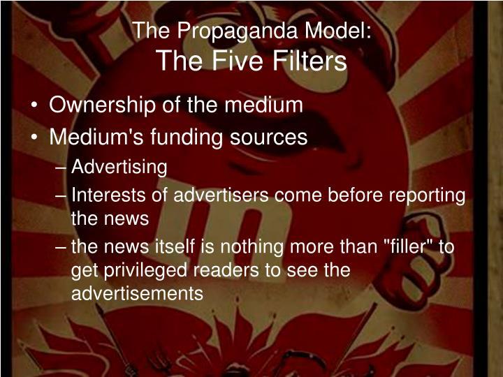 The Propaganda Model: