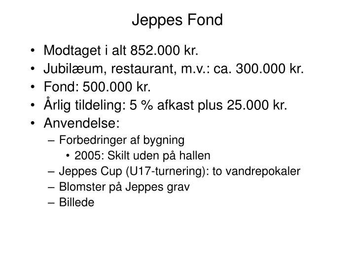 Jeppes Fond