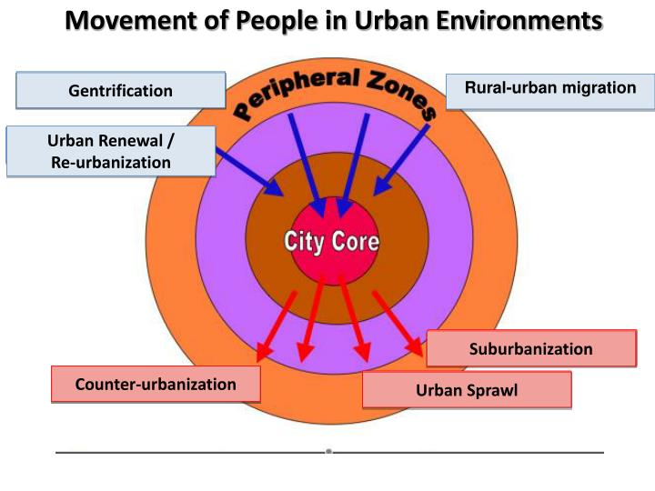 Movement of People in Urban Environments