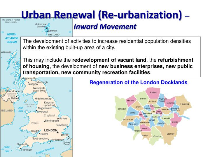 Urban Renewal (Re-urbanization)