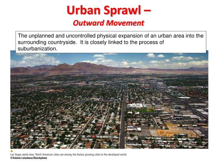 Urban Sprawl –