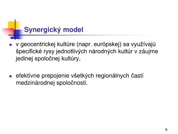 Synergický model