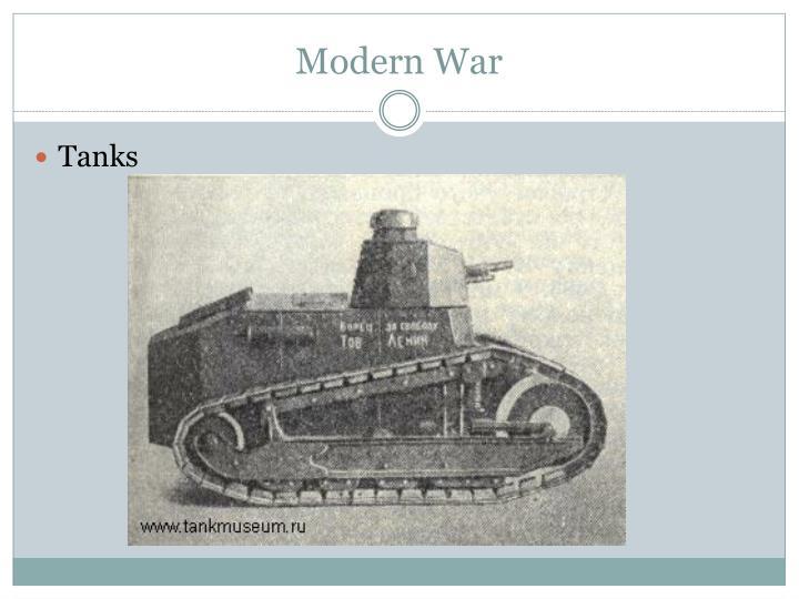 Modern War