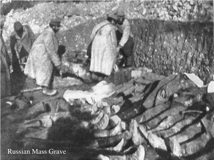 Russian Mass Grave