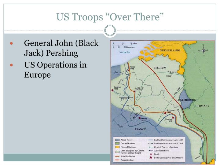 "US Troops ""Over There"""