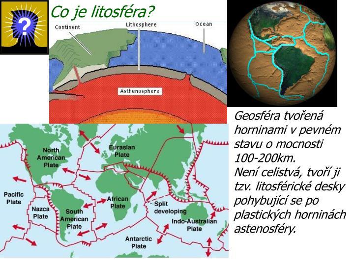Co je litosféra?