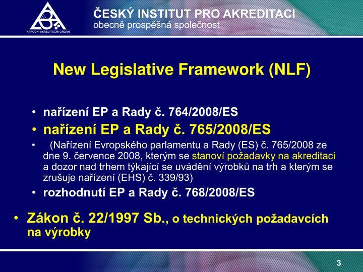 New Legislative Framework (NLF)