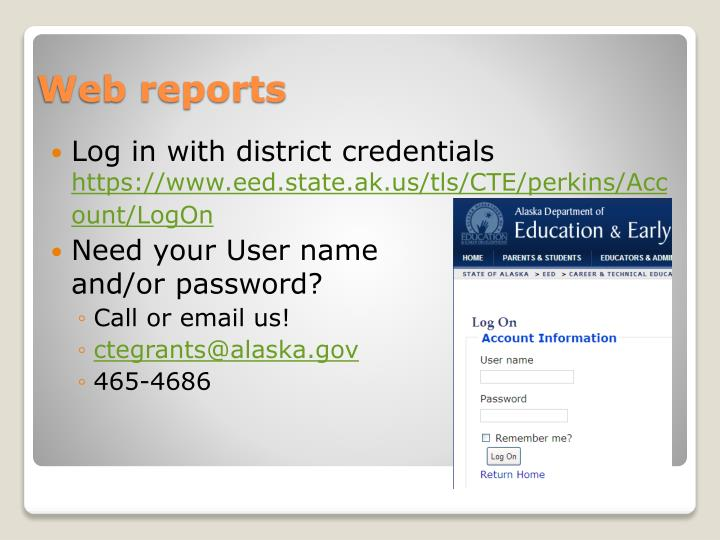 Log in with district credentials