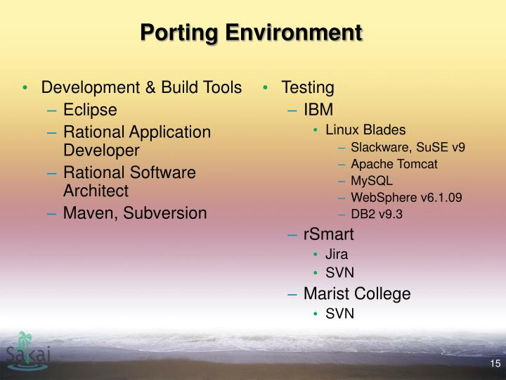 Development & Build Tools
