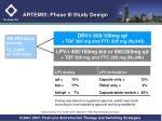 artemis phase iii study design
