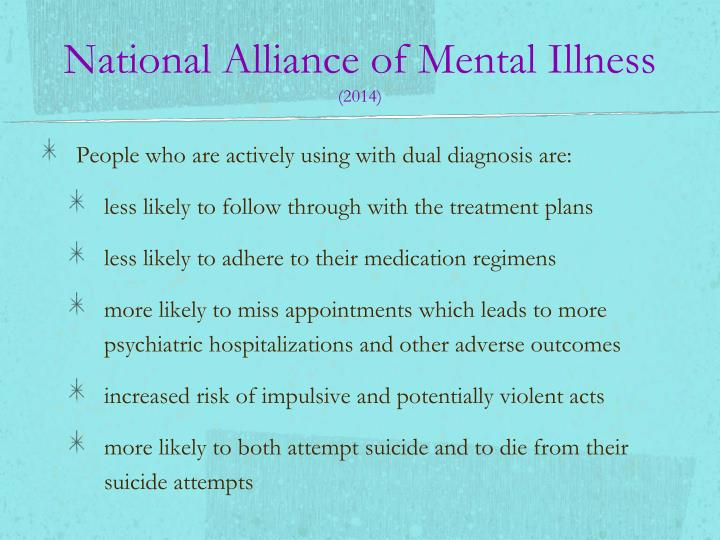 National Alliance of Mental Illness