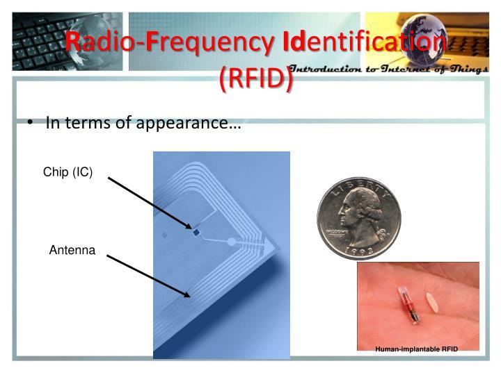 Human-implantable RFID