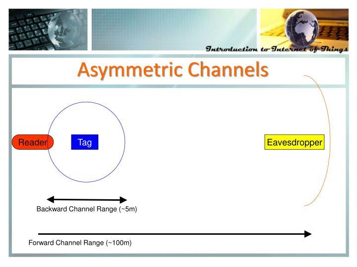 Asymmetric Channels