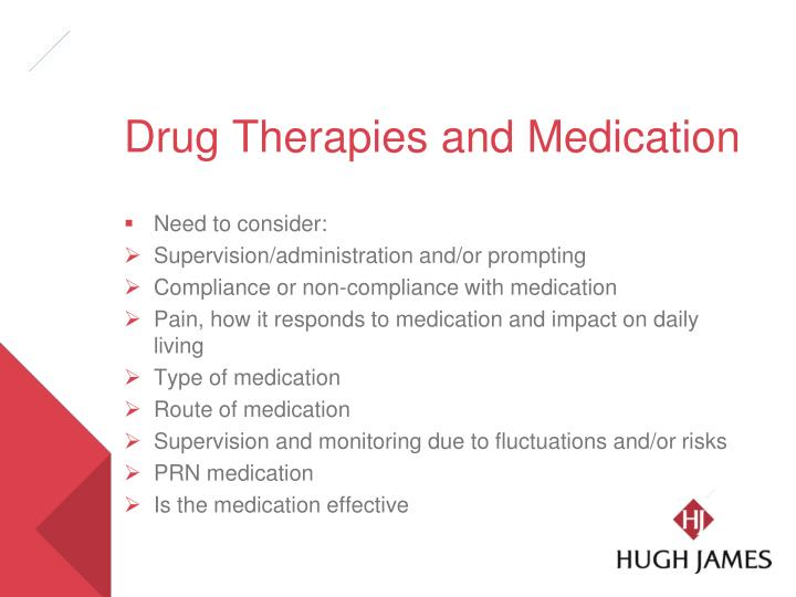 Drug Therapies and Medication
