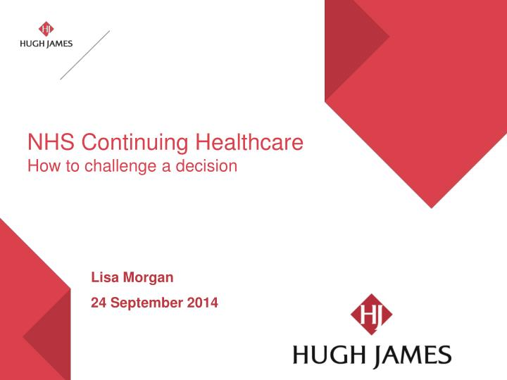 Nhs continuing healthcare how to challenge a decision