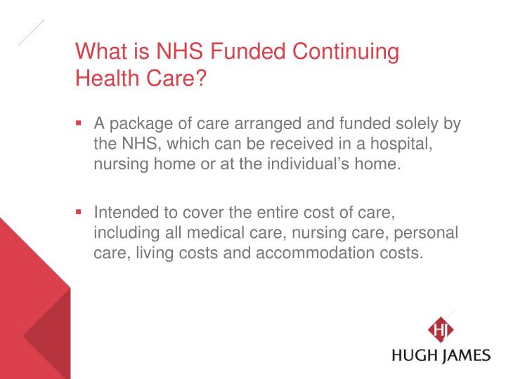 What is nhs funded continuing health care