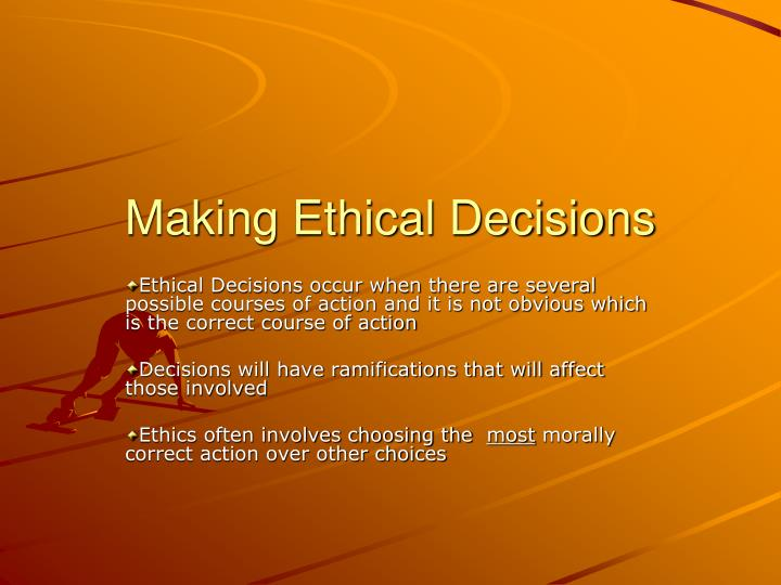 ethics in business decision making essay