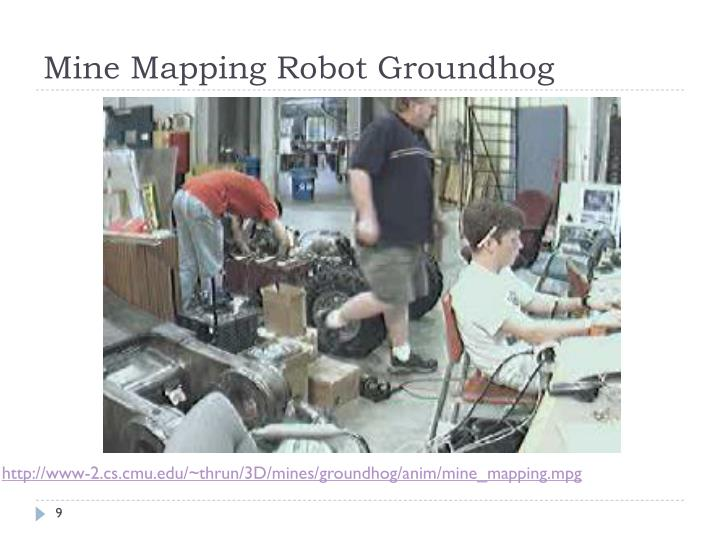 Mine Mapping Robot Groundhog