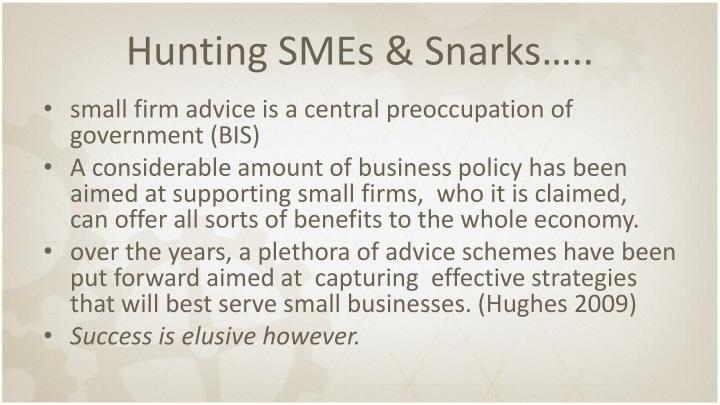 Hunting SMEs &