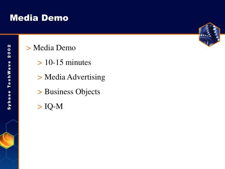 Media Demo