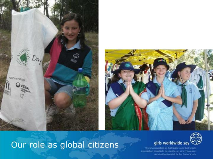 Our role as global citizens