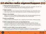 12 sterke radio eigenschappen 1