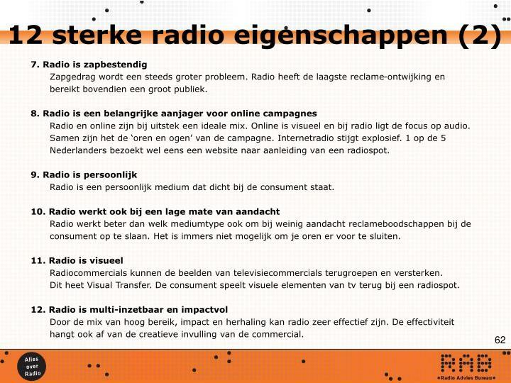 12 sterke radio eigenschappen (2)
