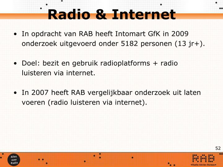 Radio & Internet
