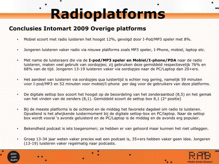 Radioplatforms