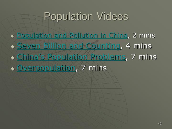 Population Videos