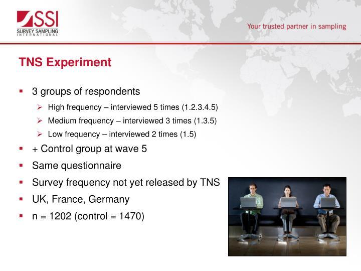 TNS Experiment