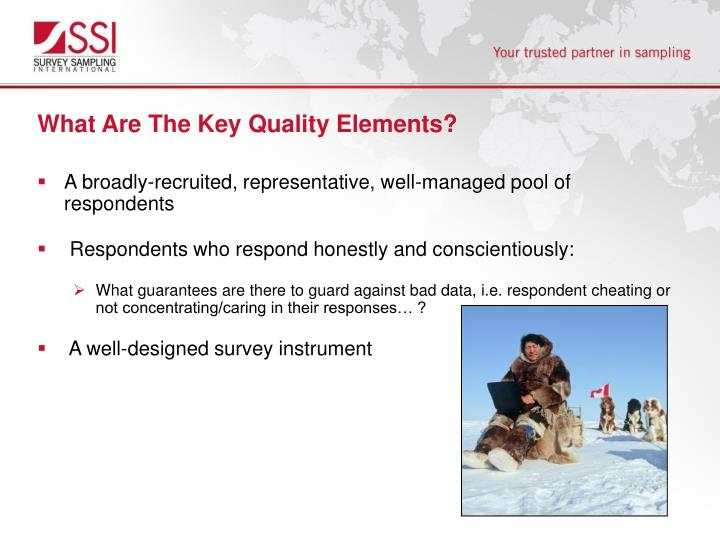 What Are The Key Quality Elements?