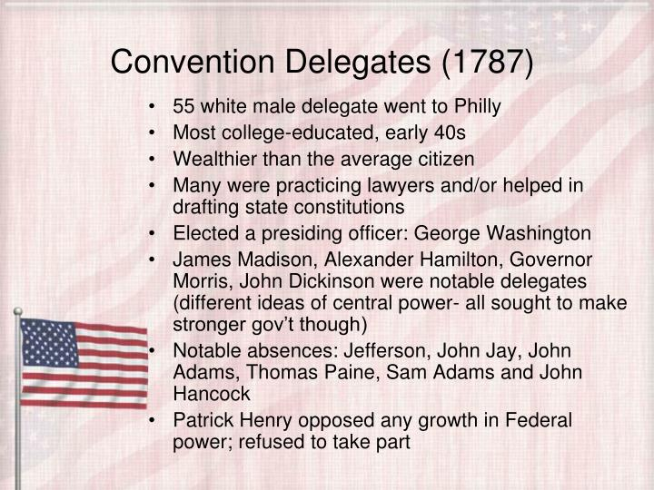 Convention Delegates (1787)