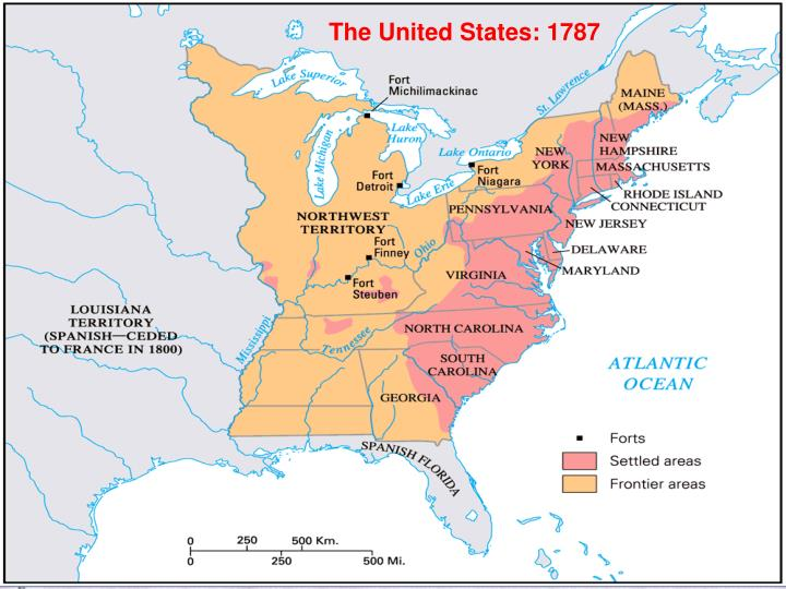 The United States: 1787