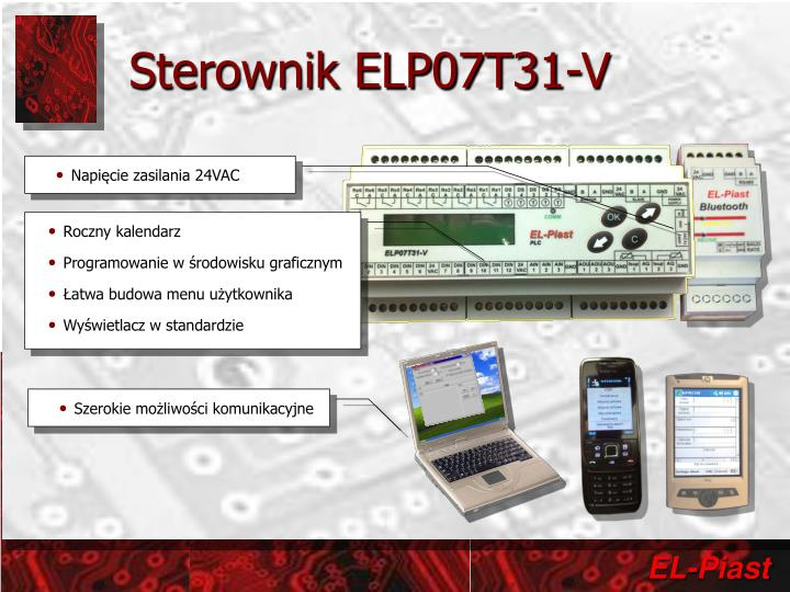 Sterownik ELP07T31-V